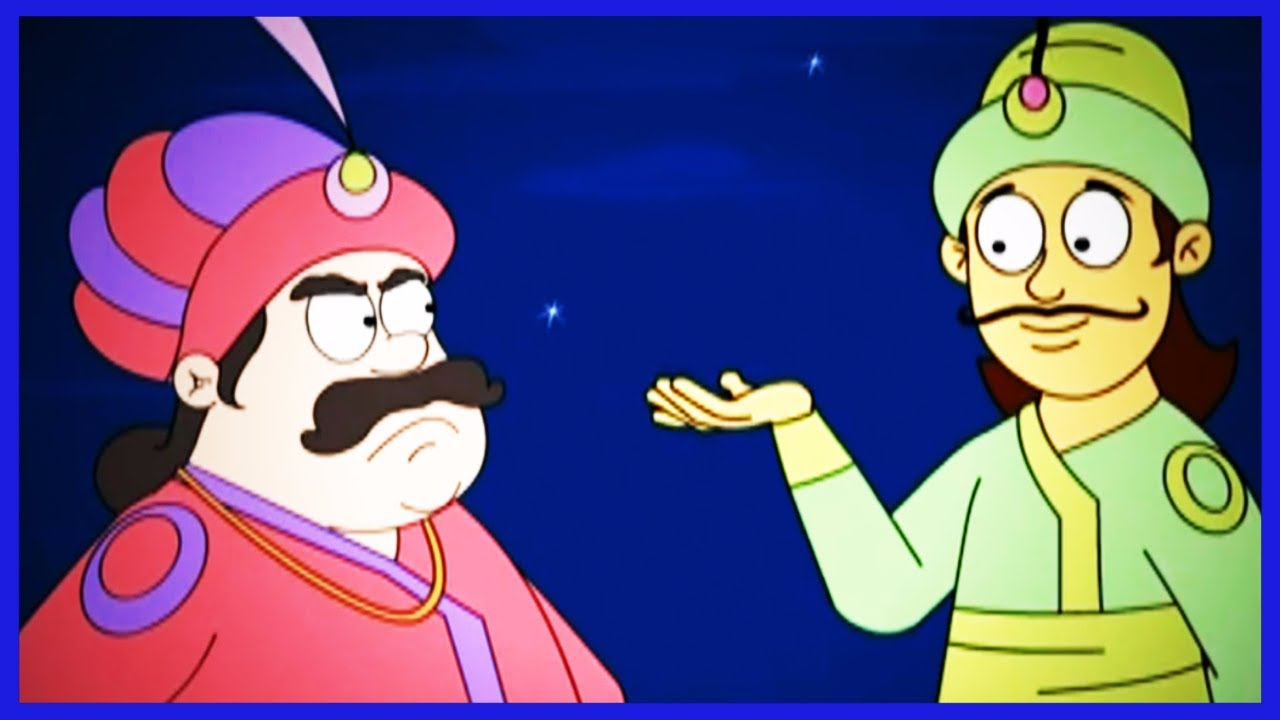 Akbar Birbal Animated Moral Stories | Akbar and Birbal Stories Collection in Hindi