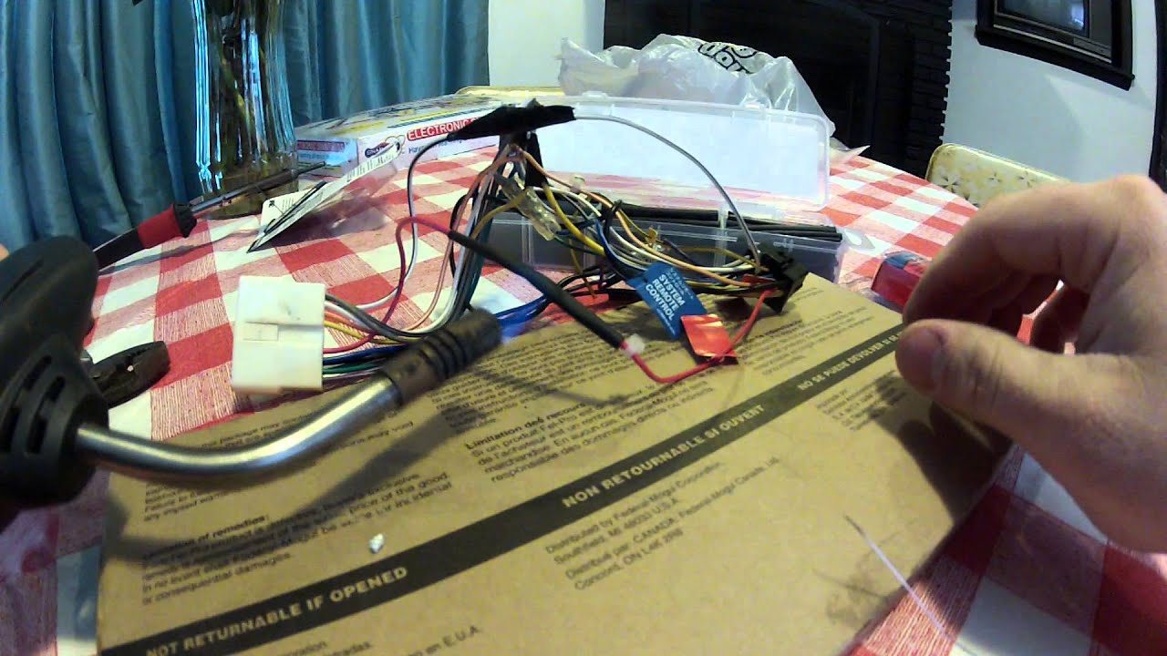 Replacing Making A Wiring Harness YouTube