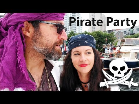 Pirates on the Waterfront & Dinghy Launch! [ Ep 37- Sailing Nova Scotia ⛵]