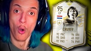 TEST ICON PRIME MOMENTS! #2 - CRUYFF 95!