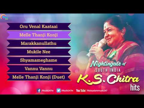 K.S. CHITHRA Superhit Malayalam Nonstop Songs |  Nightingale of South India | Official Playlist