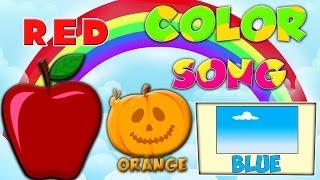Цвета песни для детей | Узнать имена цветов | Радужные цвета | Songs For Kids | Colors Song