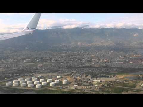 Landing in Port Au Prince PAP AA377