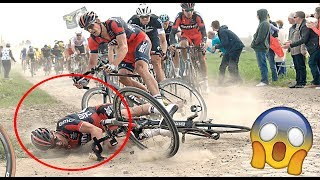 TOP 10 CYCLING CRASHES 2018 (SCARY)