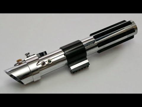 Anakin Skywalker Attack Of The Clones Custom Star Wars Fx Lightsaber Tusken Slayer Youtube