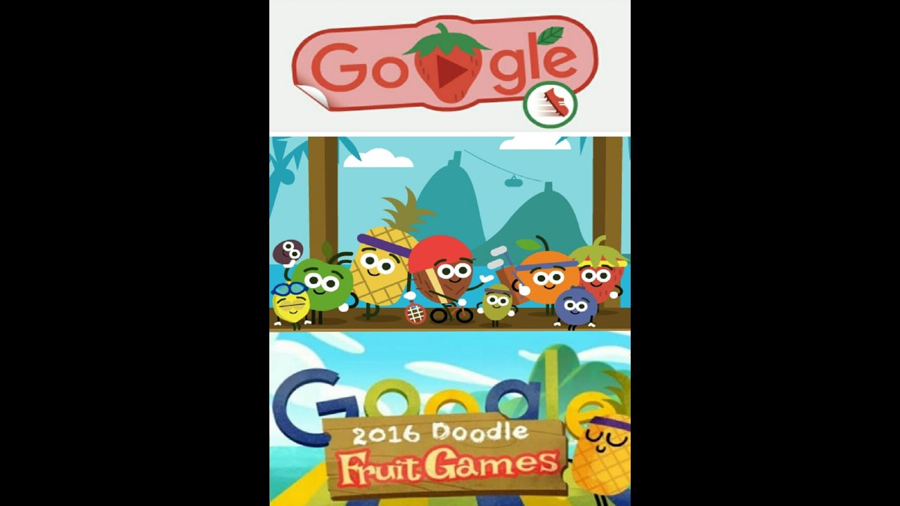 2016 Olympics Doodle Fruit Games by Google - All Games ...