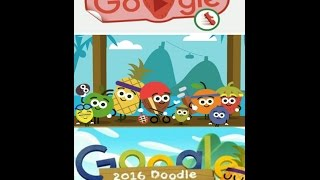 2016 Olympics Doodle Fruit Games By Google - All Games