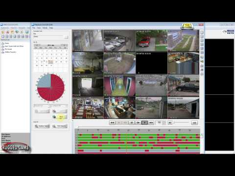 VMS Tutorial - How To Review And Download Camera Footage From Your DVR System