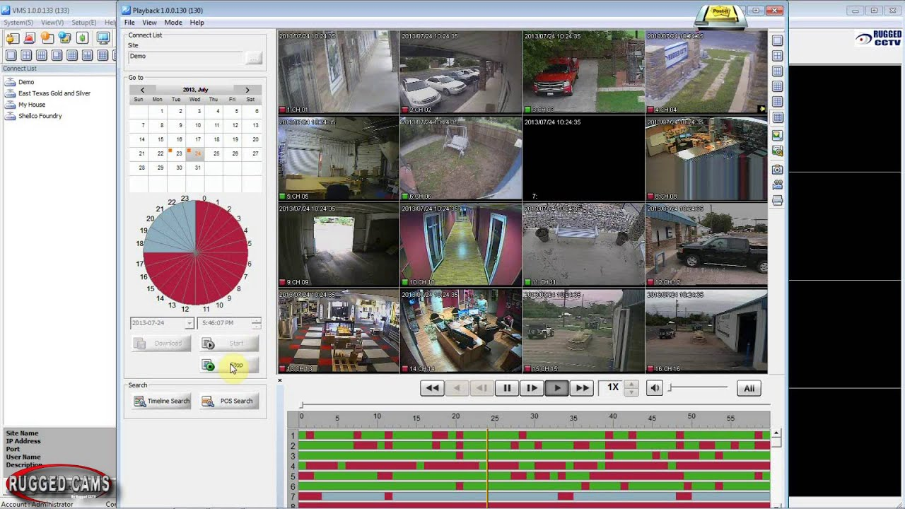 Vms Tutorial How To Review And Download Camera Footage