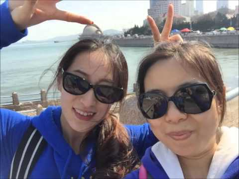 A trip from  Beijing to Qingdao