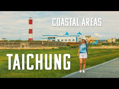 ☀️💮 😊TAICHUNG Coastal Areas -- BETTER than we Thought (台中海岸線)