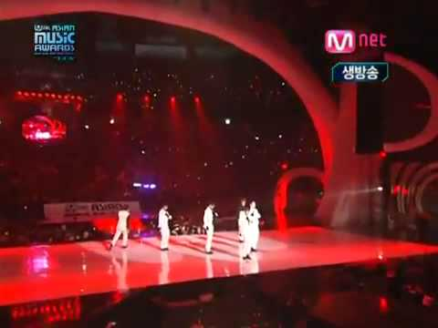 2PM - Heartbeat + Again   Again @ MAMA 2009 - YouTube.flv