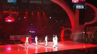 2PM - Heartbeat + Again   Again @ MAMA 2009 - YouTube.flv