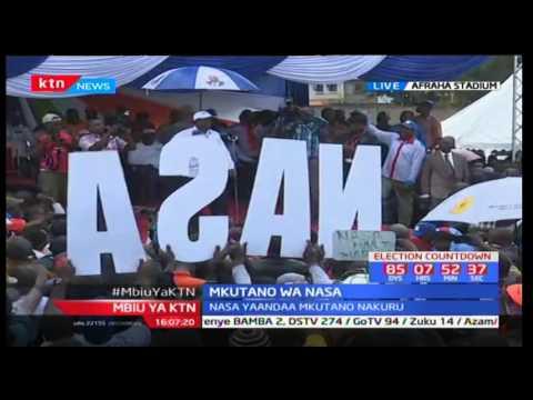 Mbiu ya KTN taarifa kamili sehemu ya kwanza : Mkutano wa NASA - 14/05/2017