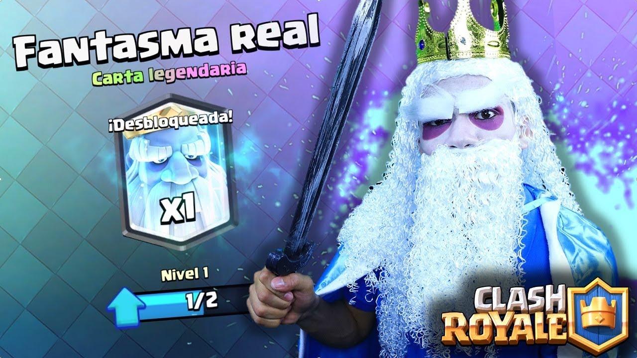 Soy Un Fantasma Gano La Nueva Carta De Clash Royale