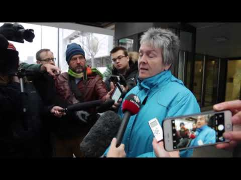Scene from the Ottawa courthouse after Basil Borutski found