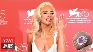 Lady Gaga's Engagement Ring Costs How Much?! | THR News