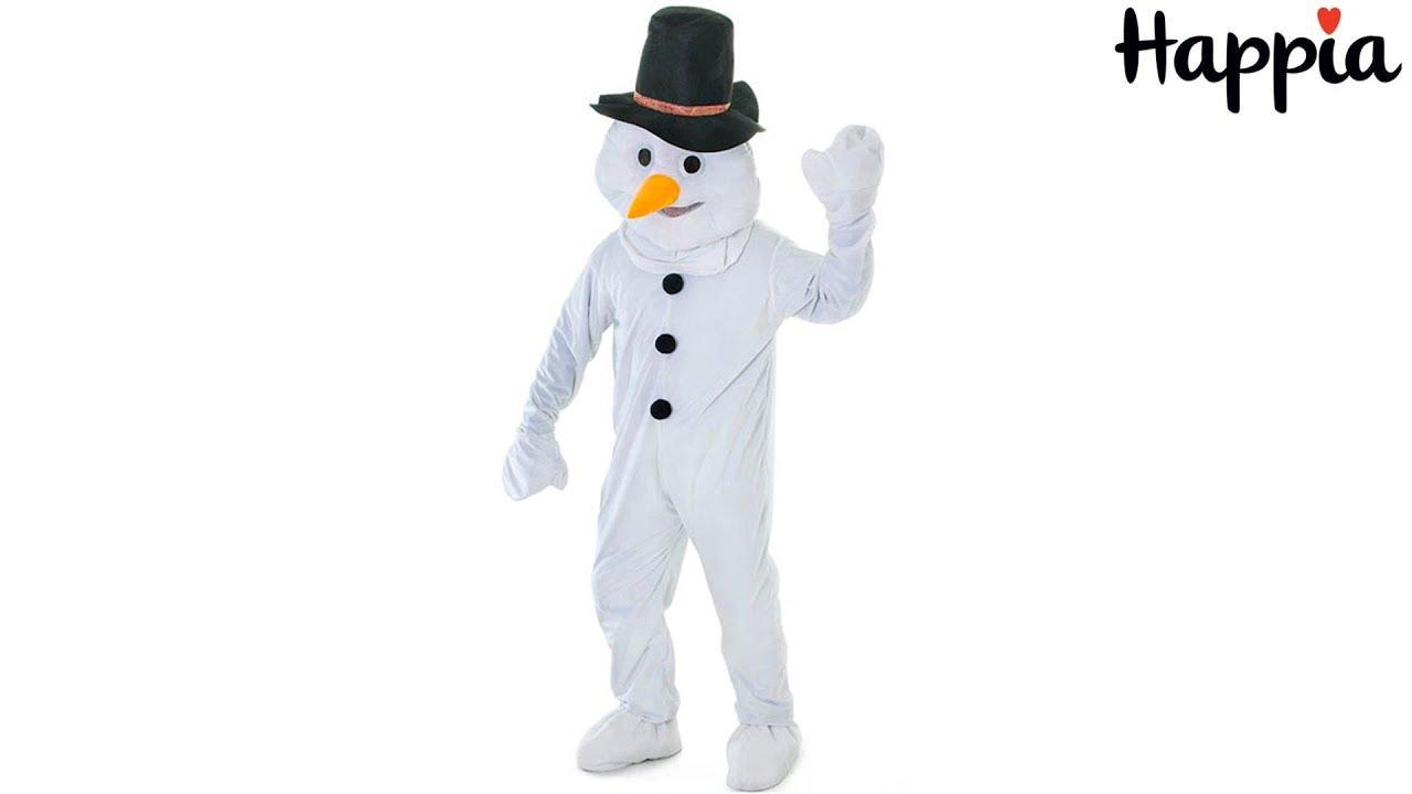 Как сделать костюм снеговика видео фото 441
