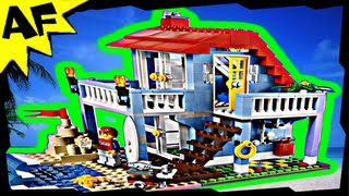 Lego City Creator Seaside Beach House 3-in-1 7346 Stop Motion Build Review