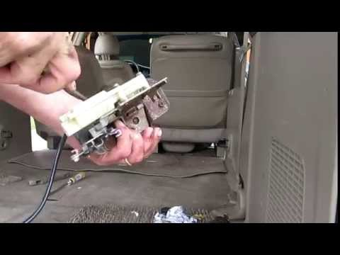Honda Odyssey Rear Door Hatch Lock Repair Funnycat Tv