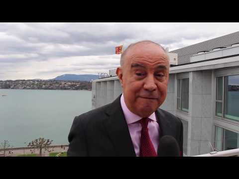 Joseph Cinque visits the Presidential Penthouse Suite at The Hotel President Wilson in Geneva
