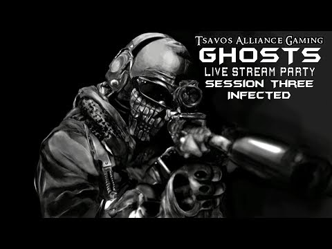 GHOSTS: Infected - Session Three with K.E.M. Strikes (Xbox 360 Servers)