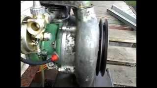 Запуск двигателя бензопилы Дружба-4...