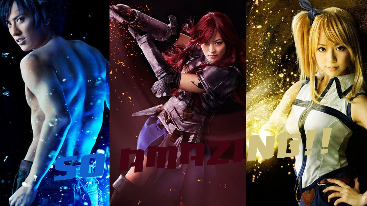 More Fairy Tail Stage Play Actors They Look Badass Youtube