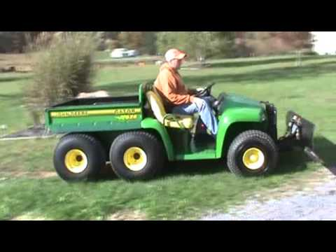 John Deere 6X4 Gator UTV Utility Vehicle Side By Side ...