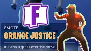 Fortnite added the Orange Shirt Kid dance - Justice Prevailed #Boogiedown