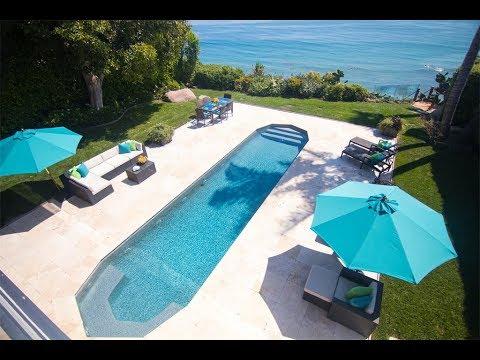 Immaculate Oceanfront Home in Malibu, California