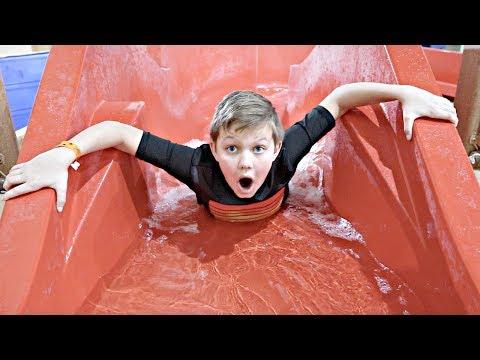 Worlds LARGEST Water Slide!