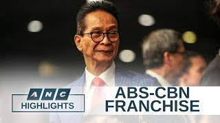 Duterte spokesman: ABS-CBN franchise renewal up to Congress | ANC Highlights