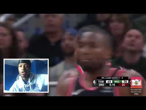 It's Over Toronto Raptors Vs Milwaukee Bucks Game 2 Highlights REACTION