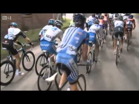 Lars Boom wins 3rd stage Tour of Britain 2011