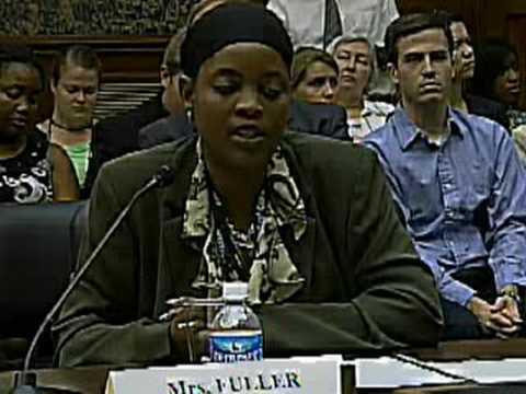 Social Work Hearing: Adina Fuller