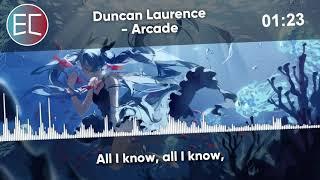 Nightcore - Arcade 【Lyrics】「EuroCore」