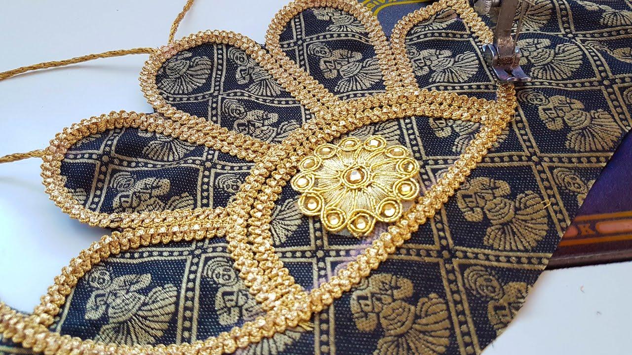 latest blouse gala ki design cutting and stitching/Blouse design
