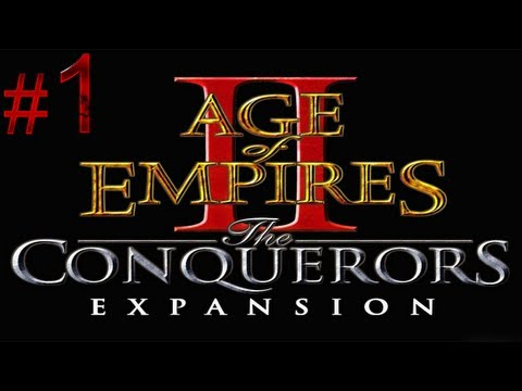 Age of Empires 2 The Conquerors - Gameplay/Walkthrough - Attila the Hun - The Scourge of God [1/2]