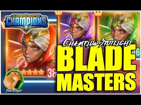 DUNGEON HUNTER CHAMPIONS: Blade Master Spotlight + Summons