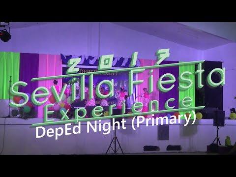 Sevilla Fiesta Experience '17 - DepEd Night (Primary/Elementary)
