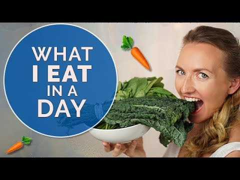 What I Eat in a Day: Vegetarian | Yoga Teacher | Busy Mom
