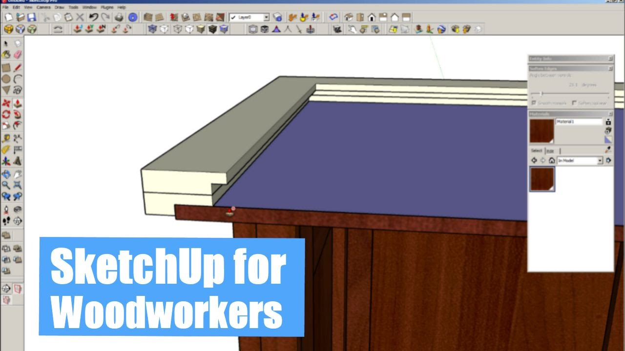 Sketchup For Woodworkers Is It Worth Learning Youtube
