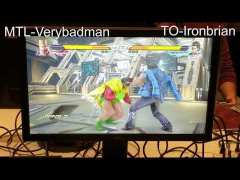 Tekken 7 Montreal versus Toronto 5v5