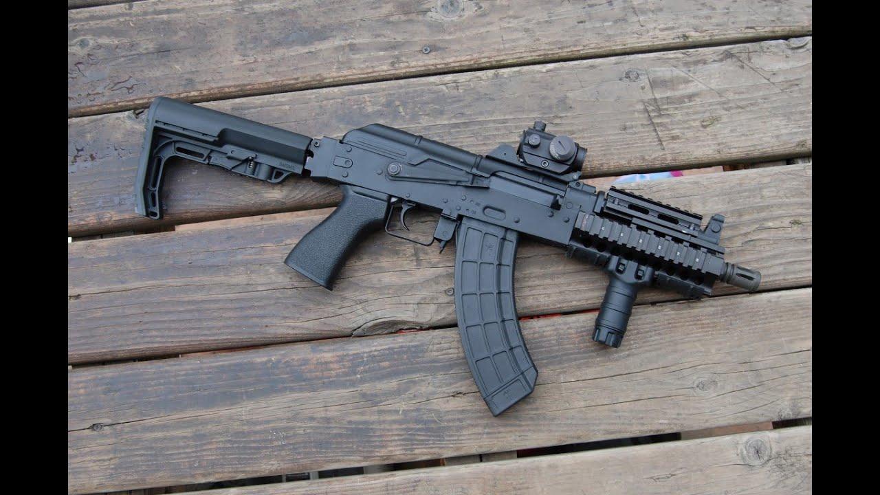 PTS US PALM AK Battle Grip GBB