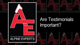 Are Testimonials Important?