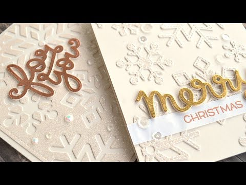 How to make elegant Christmas cards