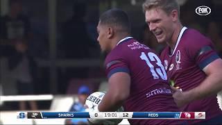 RND 10 - Sharks v St.George Queensland Reds - Scoring Plays