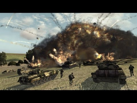 Super Dynamic Strategy about Modern Warfare ! World in Conflict Game on PC
