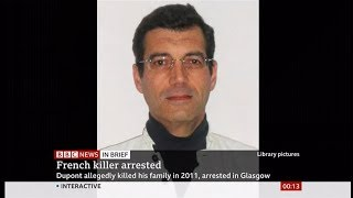 Suspected Xavier Dupont caught after 8 years? (Scotland/France) - BBC News - 12th October 2019